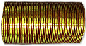 Metallic Bangles- Golden