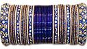 Metallic Bangles - Royal Blue