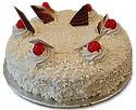 White Forest Cake (Avari)- 4Lbs