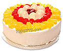 Fruit Gateau Cake (Marriott)- 2Lbs