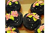 Black Berry Cup Cakes- 6pcs