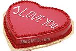 I LOVE YOU Cake- 2Lbs