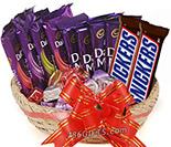 Cadbury Chocolates Basket 07