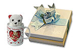 Mug with Teddy and Lals White Square Box (10pcs)