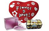 Calvin Klein Euphoria Blossom (100ml) and Ferrero Rocher and Red Heart