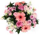 Pink Flowers Arrangement