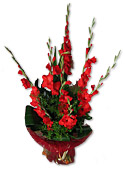 Red Glads Bouquet