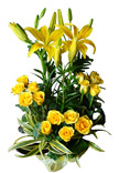 Yellow Flowers Arrangement