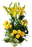 Yellow Flowers Arrangement