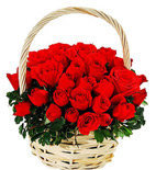 Red Roses Basket 3