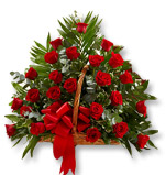 Red Roses Basket 4