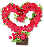 Heart Shaped Arrangement 4