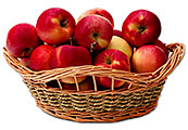Apples in a Basket (5kg)