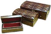 Wooden Jewelry Box (3 pcs.)