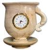 Marble Clock Cup