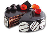 Chocolate Fudge Cake- 2Lbs