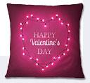 Valentine Day Cushion - Magenta