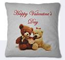 Valentine Day Cushion - White