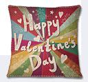 Valentine Day Cushion - Multicolor