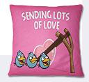 Valentine Day Cushion - Pink