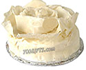 White Autumn leaves Cake (PC)- 2Lbs
