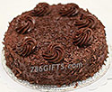 Chocolate Swissnell Cake- 4Lbs