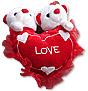 Heart with Teddy