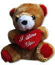 Brown Teddy with Heart