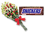 Bouquet Elegance And Snikers