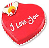 Heart Shaped Cake (PC)- 4Lbs