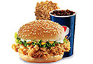 Krunch Combo with Chicken Piece (2 person)