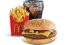 Quarter Pounder Value Meal (2 person)