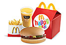 Happy Meal Beef Burger