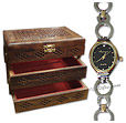 Wooden Jewelry Box And Imperial Quartz for Women