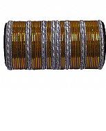 Metallic Bangles - Golden/Silver