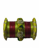 Bangles - Apple Green/Red