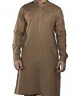 Brown Men Shalwar Kameez