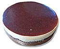 Ebony and Ivory Cheese Cake (Large)