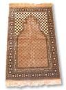 Prayer Rug (Jai Namaz) with Cap