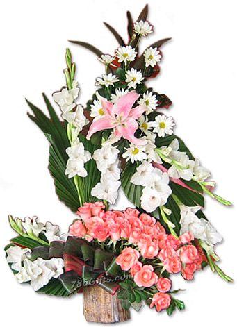 Flowers to Pakistan